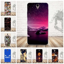 Skull Pattern Case Cover for Lenovo Vibe S1 Soft Silicone Cell Phone Case Cover Ultra Soft TPU Back Capa for Lenovo Vibe S1 Case