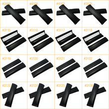 50Pair Carbon Fiber Embroidered Seat Belt Cover Shoulder Pad for Mixed order #FD-4270(China)