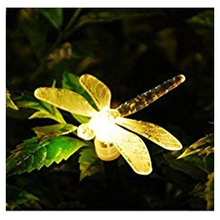 Garden Lights Solar Powered Stake Light with Color Changing (Dragonflies)