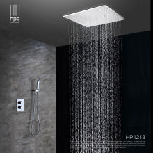 HPB Brass Bathroom Hot and Cold Water Mixer Ceiling Mounted Shower Head Bath Rain Shower Set Faucet torneira banheiro HP1213