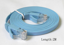 1M 2M 3M 5M 10M 15M 20M CAT6 RJ45 cable Flat UTP 10/100/1000Mbps Ethernet Network Cable Networking cable For PC Router DSL Modem