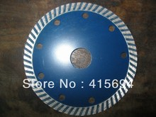 115x10x22.23-15.88mm cold press fine turbo diamond saw blade for bricks, granite,marble and concrete(China)
