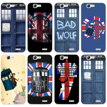 H279 Tardis Box Doctor Who Transparent Hard Thin Skin Case Cover For Huawei P 6 7 8 9 10 Lite Plus Honor 6 7 8 4C 4X G7(China)