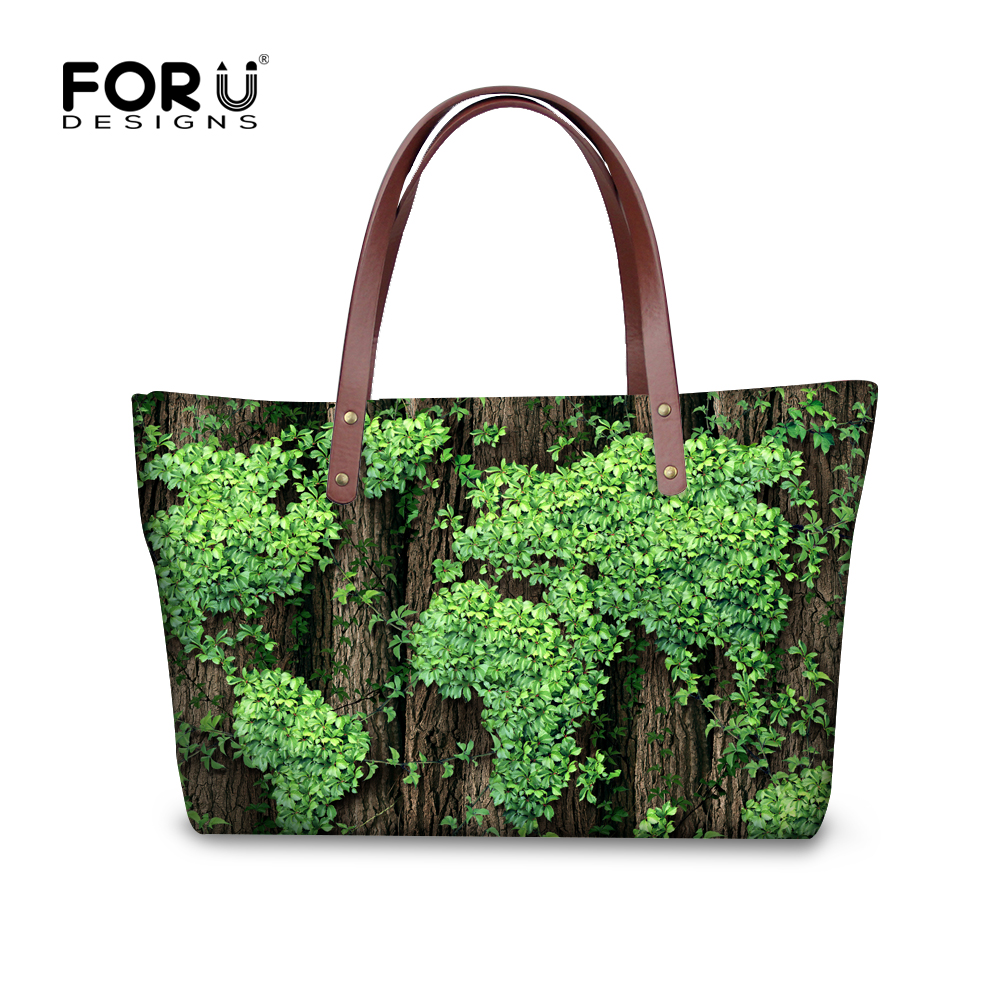 New Green Lucky Clover Printed Handbags for Women Casual Tote Bags Large Capacity Ladies Shopper Bags,Summer Beach Shoulder Bags<br><br>Aliexpress