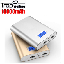 Tropweiling usb battery power supply 10000mah battery charger power banks power charger for All phones