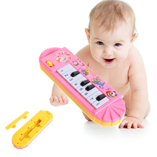 100% Brand New and High Quality Lovely Piano Music Tool Developmental Educational Toy For Baby Kid Infant Boy girl(China)