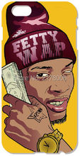 Retail Painting Fetty Wap Mobile Cell Phone Plastic Hard Cover For iphone 4 4S 5 5S SE 5C 6 6S Plus For iPod Touch 4 5 6 Cases