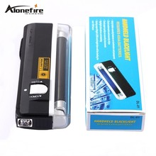 QUALITY GOODS Handheld UV Leak Detector For uv light bank note / test currency + White LED flashlight torch(China)