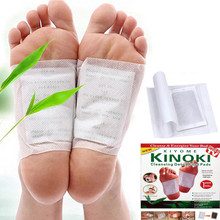 Retail Box 100pcs Cleansing Detox Foot Kinoki Pads (100pcs=5Box=50pcs Patches+50pcs Adhesive) Keeping Fit Health Care
