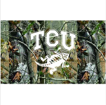 Texas Christian Horned Frogs Camo College Large Outdoor Flag 3ft x 5ft Football Hockey Baseball USA Flag(China)
