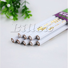 4pcs/set  White 17cm Pick Up Pencil Paper Wooden crayon Picking Hotfix Stone Peel-off Non HotFix Rhinestone diy Tools  B1972