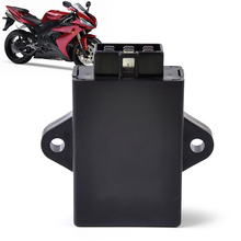 DWCX New Design Black 6Pin CDI Module Box Unit Digital Ignition fit for Suzuki GN250 Chopper Motorcycle 12V DC(China)
