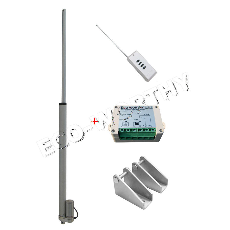 18 Stroke Length Linear Actuator Motor and Wireless Remote Control Controller<br><br>Aliexpress
