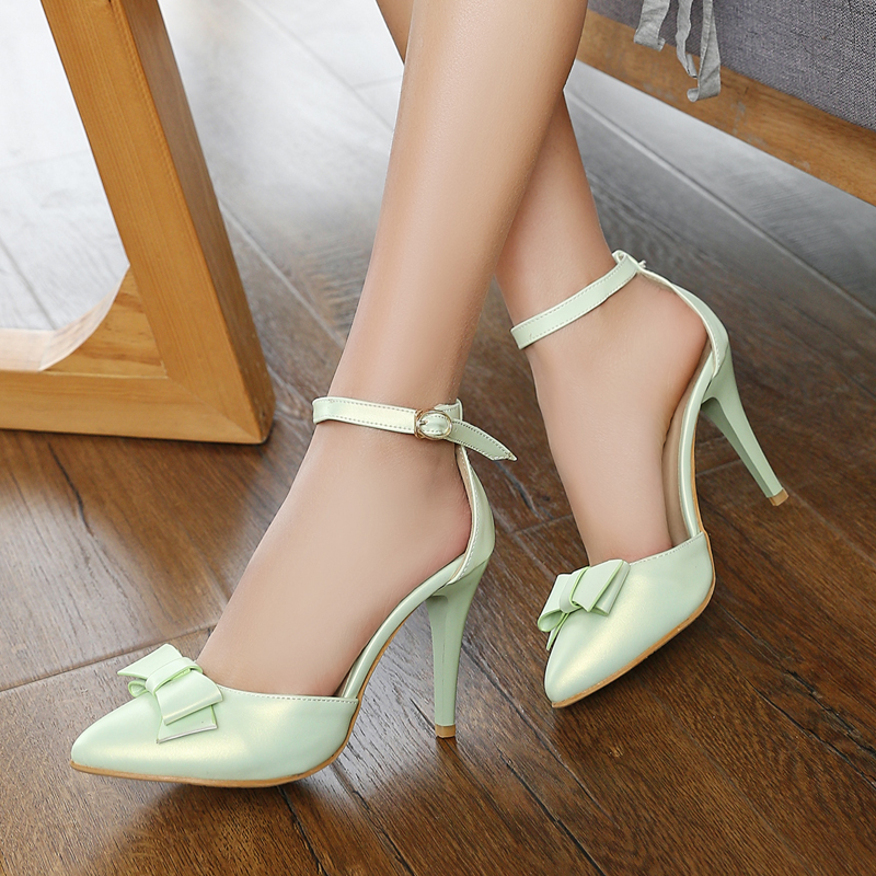 Fashion Cross Ankle Strap Pointed toe Sandals 2017 new Brand Sexy Thin High Heels Sandals Dress Summer Shoes for Women<br><br>Aliexpress