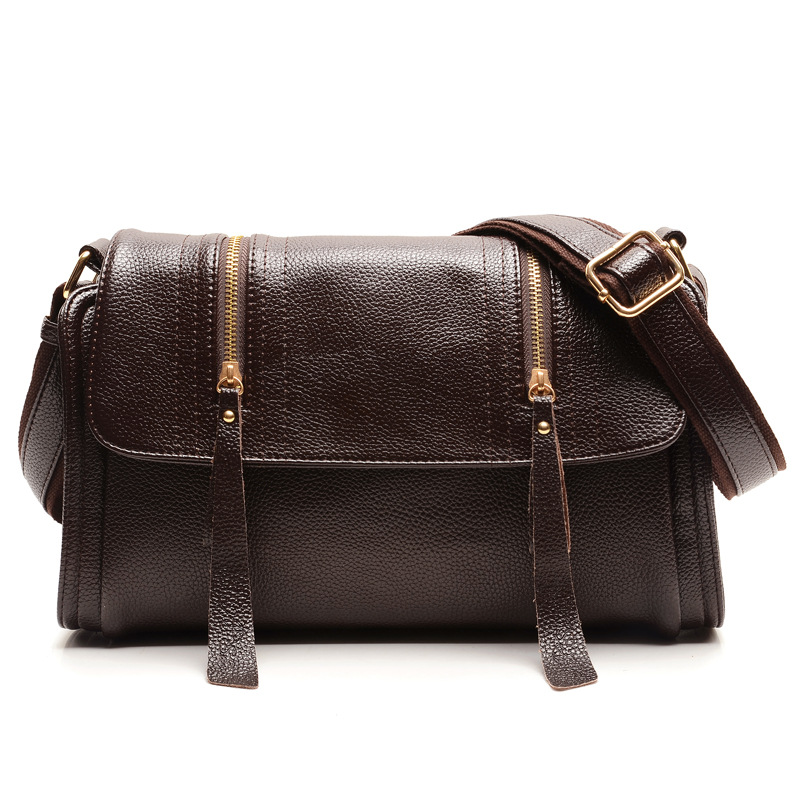 Fashion Womens Totes Handbags Genuine Leather Vintage Crossbody Women Messenger Shoulder Bags Women Travel Bags Bolsas Feminina<br><br>Aliexpress