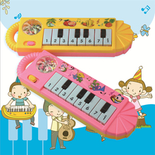Toy Musical Instrument Baby Kids Musical Educational Puzzle Small Eight-key Portable Music Keyboard Music Toys