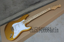 New Factory Guitar Top Quality Stratocaster Custom Body Golden hardware Body Electric Guitar custom shop  @22