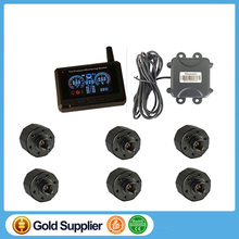 Tire Pressure Monitoring System TPMS for Truck &  bus  External Sensors High Low Pressure Temperature Alarm Car Security System
