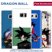DRAGON BALL Z Japan Cartoon Comic Phone Case Shell Cover For Samsung Galaxy S4 S5 S6 S7 Edge S8 Plus Note 2 3 4 5 C5 C7 A8 A9