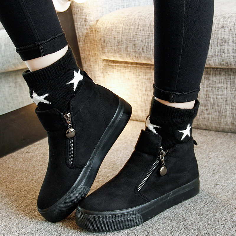 2017 han edition high age season for womens shoes to help large base set foot pedal short boots lazy female canvas shoes<br><br>Aliexpress