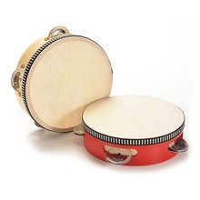 Orff 6-inch tambourine child's percussion instrument free shipping baby gift ET012(China)
