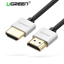 Ugreen Metal HDMI Cable High Speed HDMI to HDMI Cable Connector 0.5M 1M 1.5M HDMI 1.4 4K 1080P 3D for PS3 projector Apple TV
