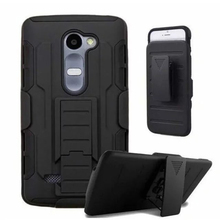 Rugged 3 in 1 Armor Case for LG K8 Lte K350 K350E K350N K 8 4G Case Full Protective Stand Cover and Belt Clip Phone Back Cover(China)