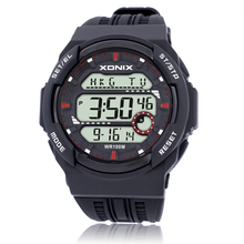 XONIX Precise Tall On The New Cool Sports Waterproof Tide Male Luminous LED Multifunction Digital Display Electronic Watches JS(China)