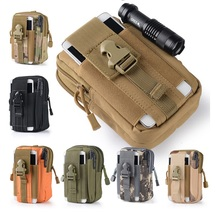 Outdoor Tactical Holster Military Molle Hip Waist Belt Bag Wallet Pouch Purse Zipper Phone Case Zopo Color F5 - E-Net World Trading store