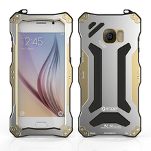 Powerful Armor Silicon Oxidation Metal Case For Samsung Galaxy S6 G9200 G920F Skin Protection Cover Shell water/dirt/shock proof