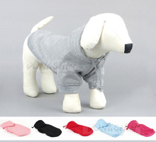 New Pet Dog Clothes Autumn Winter Cotton Dogs Coat Jacket for Small Dogs & Cats Four Legs Warm Pet Hoodies Size XS - XXL(China)