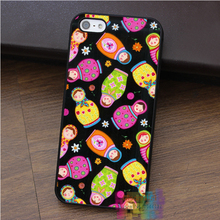 matrioska fabric art fashion cell phone case for iphone 4 4s 5 5s 5c SE 6 6s 6 plus 6s plus 7 7plus #ey434