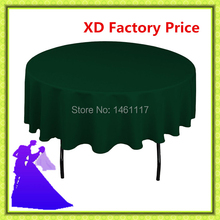 "90"" table cloth with 100% polyester / wholesale Brand new various colors sash / spandex chair covers"