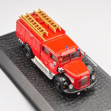 1/72 Scale Diecast Fire Truck Car Model Toys Steyr 380 Classical Car Model Gifts Collections