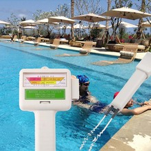 HAOBA PH Meters Pool Water Testing Swimming Pool Test Kits PH/CL2 Chlorine Tester Level Meter PH Tester for Swimming Pool Spa(China)
