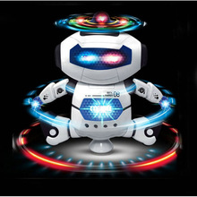 Electronic Electric Toys Mini Dancing Singing Robot Robots For Children Kids Funny Educational Gift Toy(China)