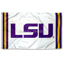 Louisiana State Tigers Jersey Large Nation American Outdoor Indoor Hockey Baseball College Flag 3X5 Custom USA Any Team Flag