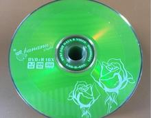 Wholesale 10 discs A+ Bananas Green Flower 16x 4.7 Blank DVD+R