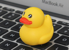 New Cartoon Yellow Duck USB 2.0 Memory flash stick pen drive for computer