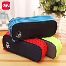 Deli Large Pencil Cases Chancery Stationary Store School Pencil Case For School Girls Boys Office Supplies Pencil Box Set Gifts