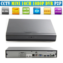 Low Price 16ch Full HD Real-time Stand-alone NVR with remote Control Free CMS Network Access(no Hdd)