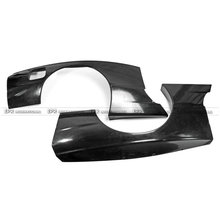 FRP Fiber Glass Rocket B Style Rear Over Fender Fiberglass R Bunny Extension Accessories Trim Fit For Nissan R32 GTR Wide Body