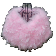 Etole Mariage Faux Fur Stoles China Feathers Women Fur Capes White/Red/Black/Pink Bridal Wedding Wrap Bolero Jacket