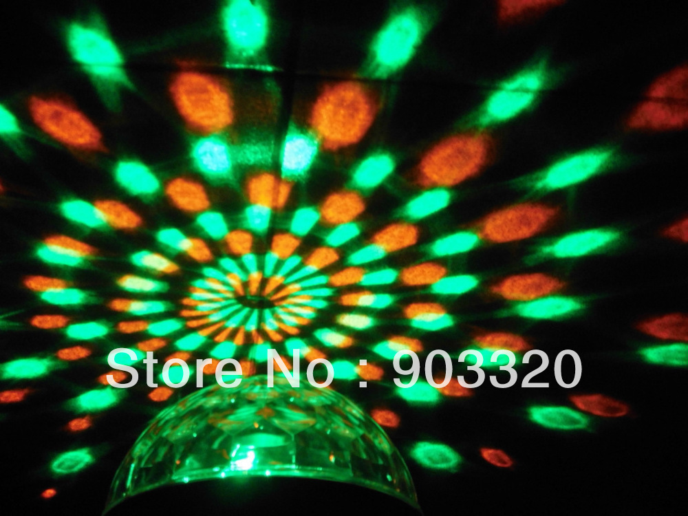 Dropshipping New RGBWY Mixed Color LED Magic Ball,DMX512 Sound Active Magic Ball,Disco Light<br><br>Aliexpress