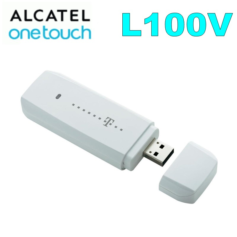 ALCATEL L100v  4G usb dongle FDD 800/900/1800/2100/2600MZH Unlocked 4G MODEM Free Shipping