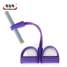 Buy Pedal Chest Expander Crossfit Yoga Training Resistance Bands Leg Exerciser Rubber Pull Rope Fitness Equipment Workout Gym for $8.93 in AliExpress store