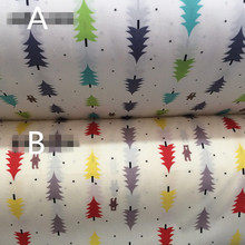 Small pine cotton twill fabric fabrics for patchwork DIY handwork dress cloth doll clothes