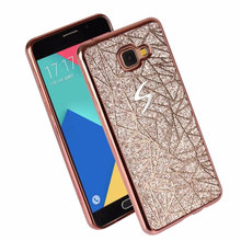 Buy Bling Luxury Matte Dimensional TPU Soft Phone Case Samsung Galaxy A3 A5 A7 2015 2016 2017 Back Cover Phone Case for $2.42 in AliExpress store