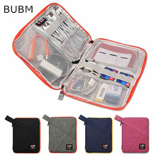 "2017 Newest Brand BUBM Case For ipad Air 9.7"", For ipad mini 7.9"", Digital Accessories Storage Bag For Tablet Free Drop Shipping"