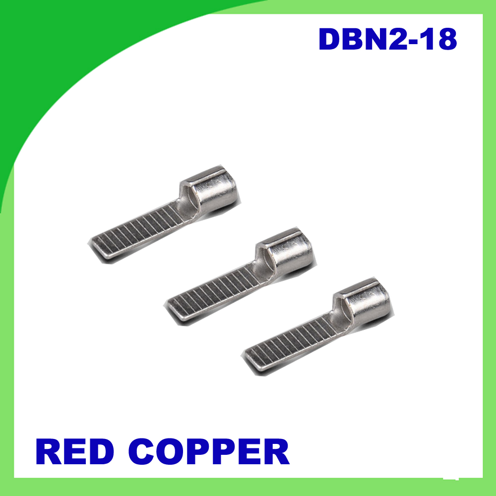 DBN2-14 1000 PCScold-pressure terminal Fully insulated female connector Electrical Crimp Terminal<br>